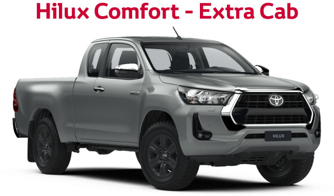 flückiger Autohaus - NEW TOYOTA NEW Hilux Comfort - Extra Cab