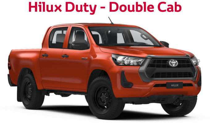 flückiger Autohaus - NEW TOYOTA NEW Hilux Duty - Double Cab