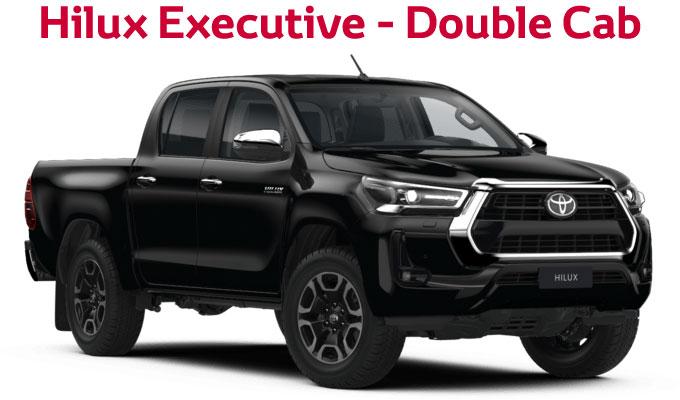 flückiger Autohaus – NEW TOYOTA NEW Hilux Executive - Extra Cab