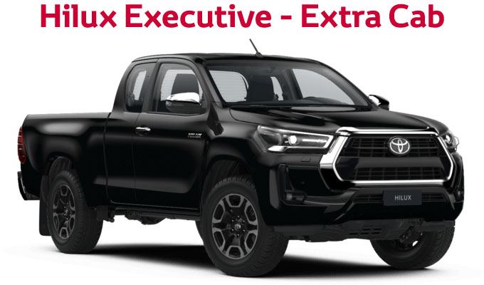 flückiger Autohaus – NEW TOYOTA NEW Hilux Executive - Double Cab
