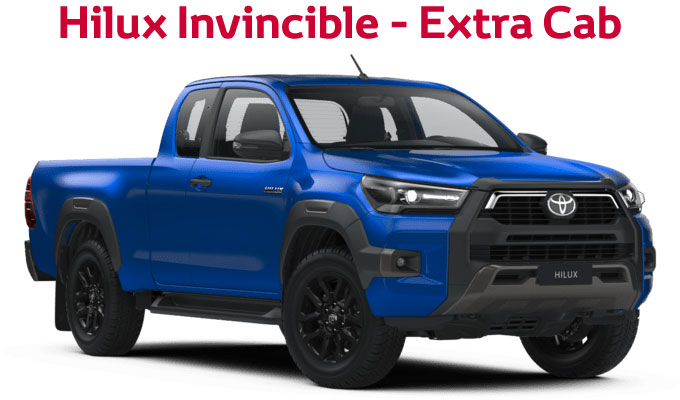 flückiger Autohaus – TOYOTA NEW Hilux Invincible - Extra Cab