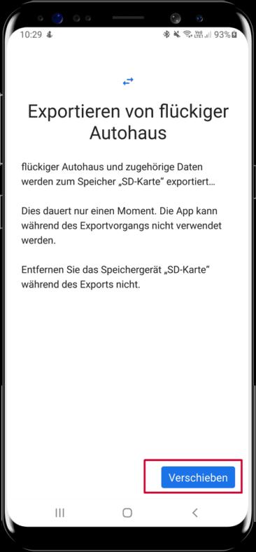 Die GRATIS flückiger Autohaus Android APP