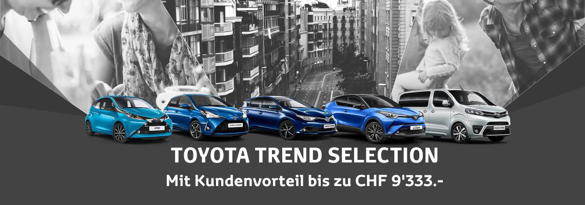 flückiger Autohaus – TOYOTA TREND SELECTION