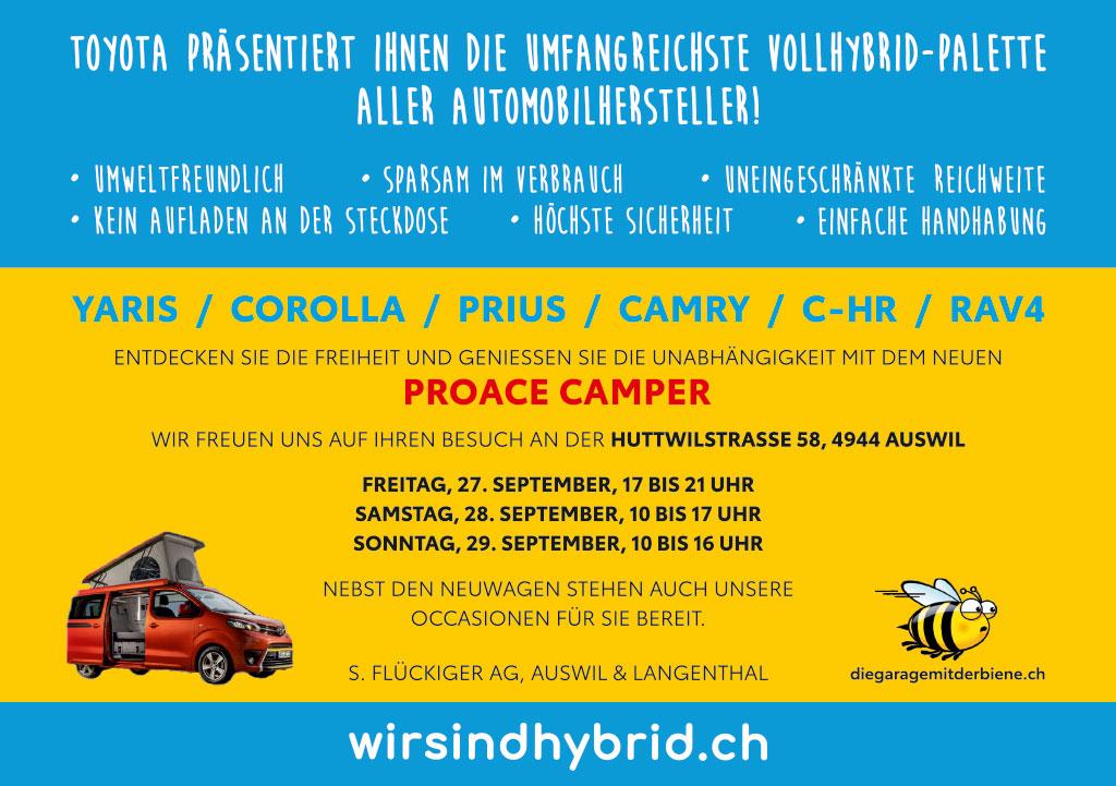 flückiger Autohaus - Herbstausstellung 2019 Auswil