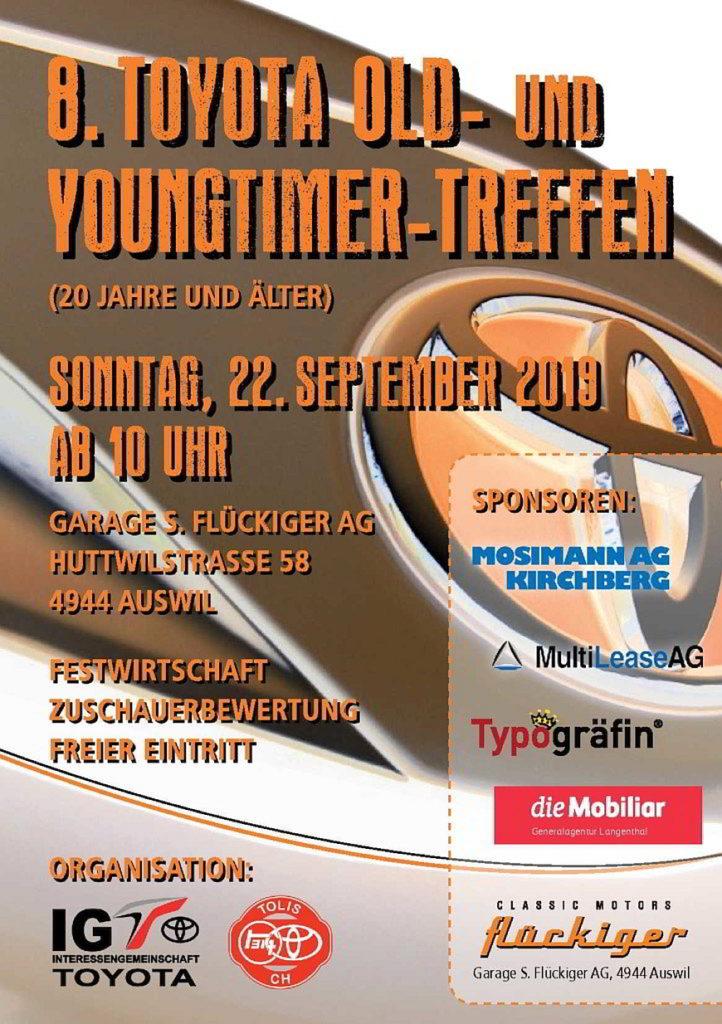 flückiger Autohaus - 8. Toyota Old- und Youngtimer-Treffen