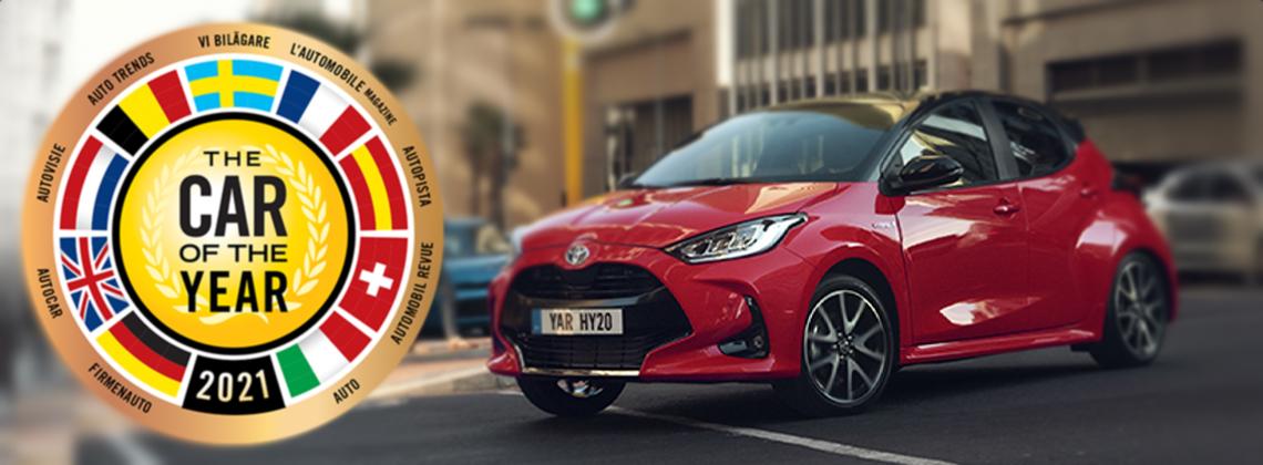 Toyota Yaris gewinnt die Wahl zum