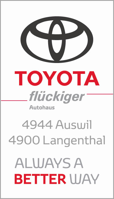 flückiger Autohaus - TOYOTA ALWAYS A BETTER WAY