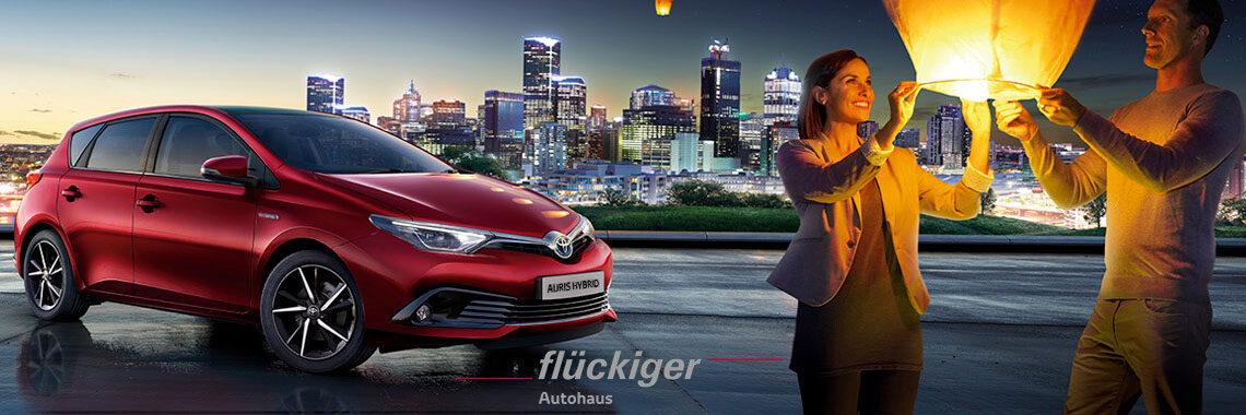 flückiger Autohaus - Toyota AURIS entdecken