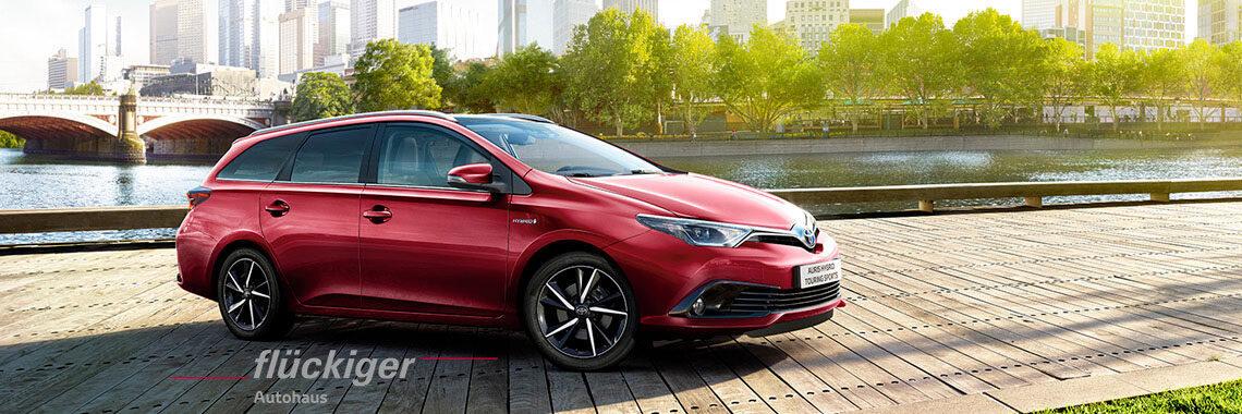 flückiger Autohaus - Toyota AURIS TOURING SPORTS entdecken