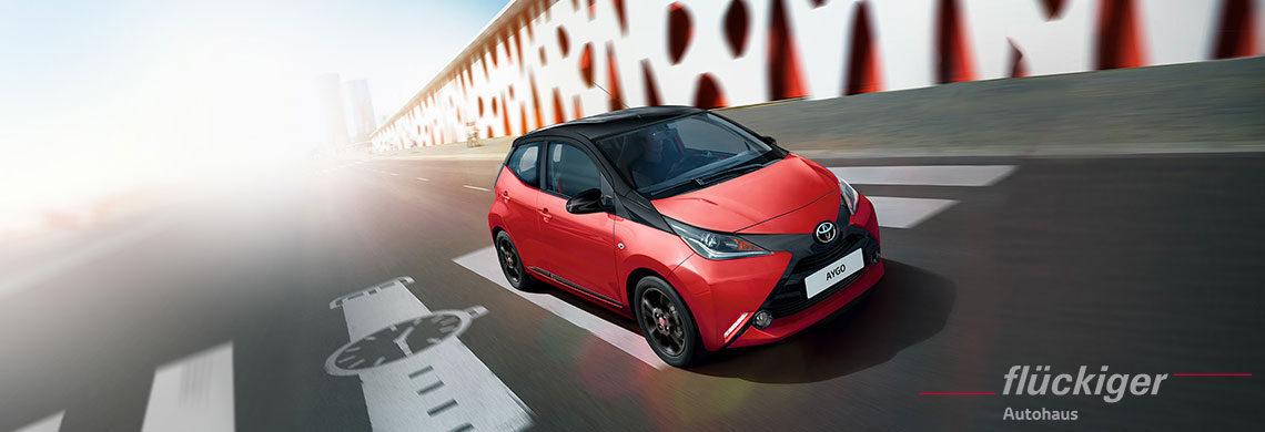 flückiger Autohaus - Toyota AYGO entdecken