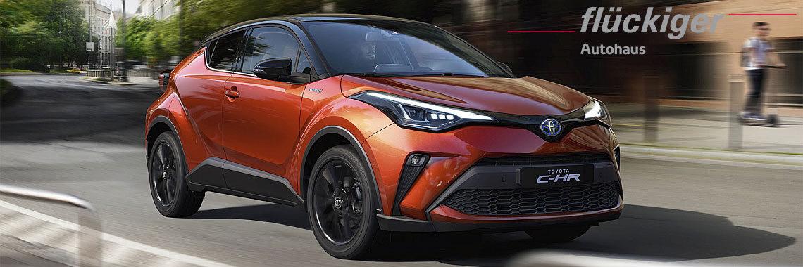 flückiger Autohaus – Neuer Toyota C-HR - Lassen Sie das Gewöhnliche hinter sich
