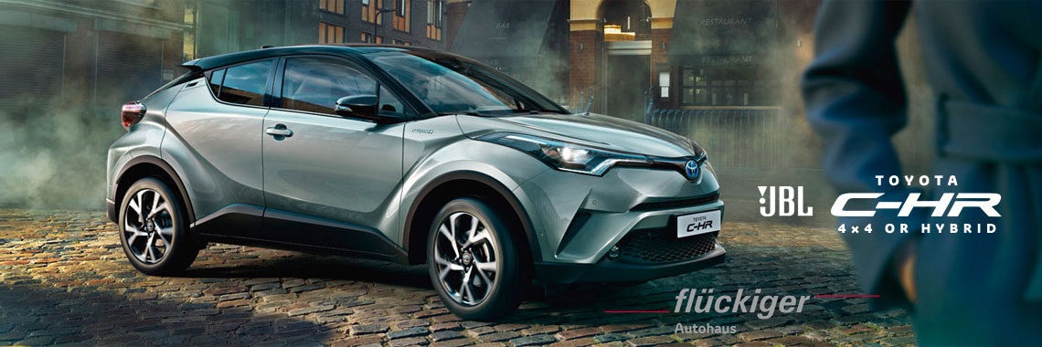 flückiger Autohaus - Toyota C-HR entdecken