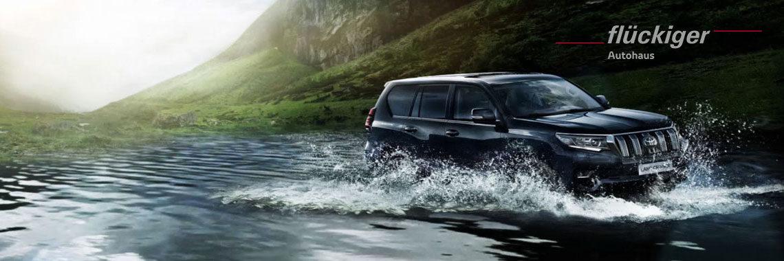 flückiger Autohaus - Toyota LAND CRUISER entdecken