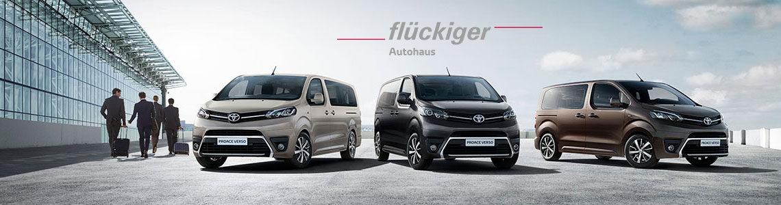 flückiger Autohaus - Toyota PROACE VERSO entdecken