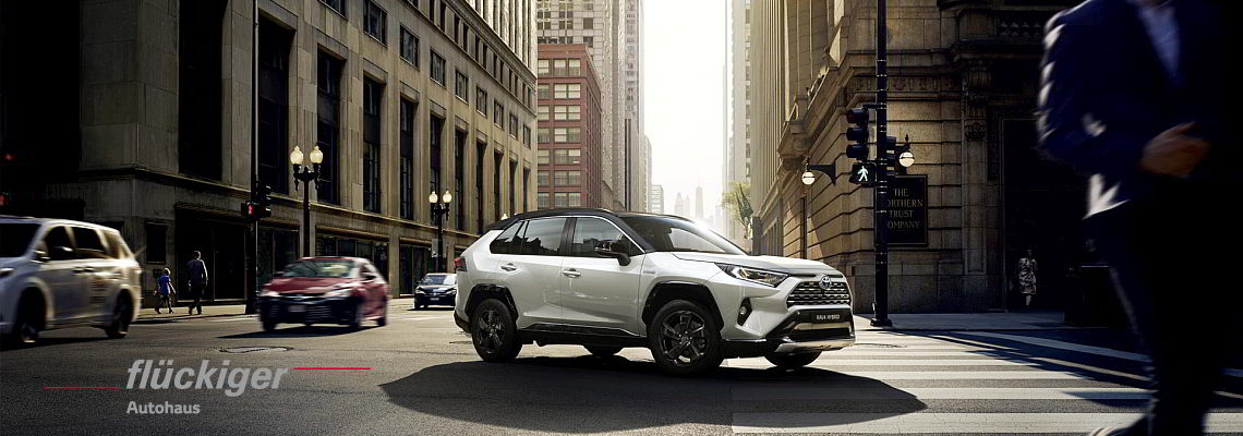 flückiger Autohaus - Toyota RAV4 entdecken