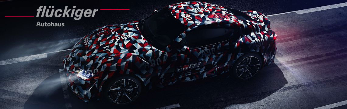 flückiger Autohaus – New Toyota Supra entdecken
