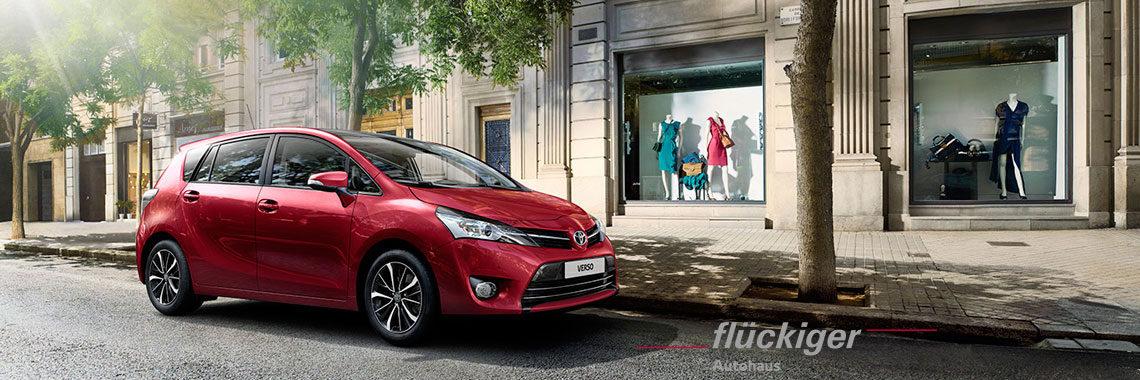 flückiger Autohaus - Toyota VERSO entdecken
