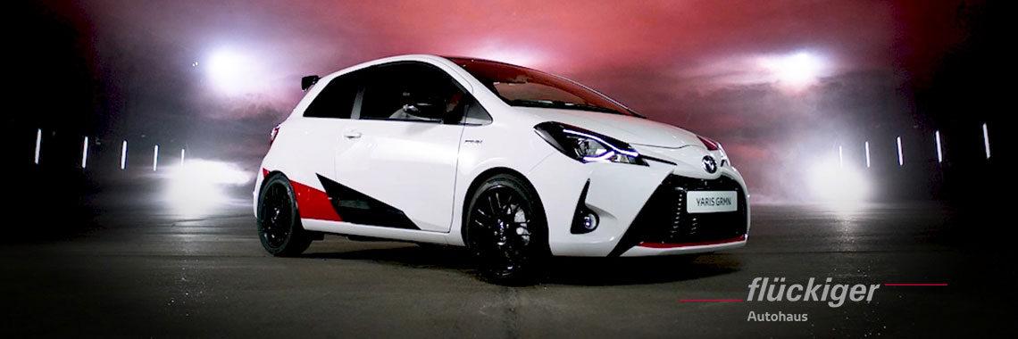 flückiger Autohaus - Toyota YARIS GRMN entdecken