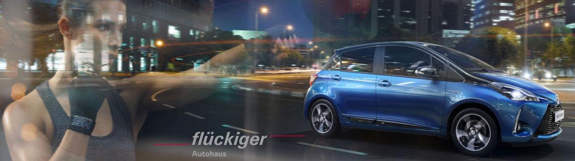 flückiger Autohaus - Toyota YARIS entdecken