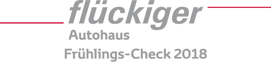 flückiger Autohaus - Frühlings-Check 2018 nur CHF 69.-