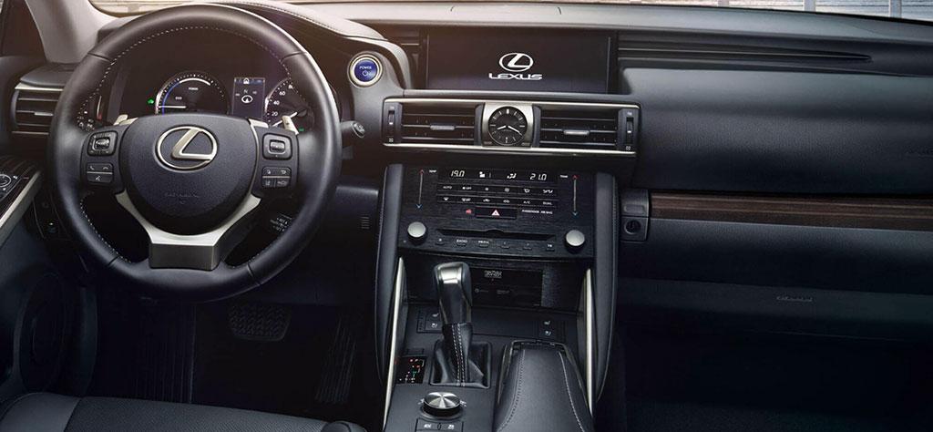 flückiger Autohaus - LEXUS IS 300h - Innenraum