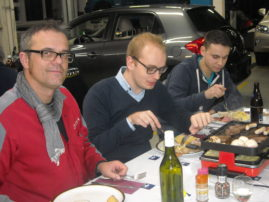 flückiger Autohaus - Mitarbeiter Racletteabend 2013