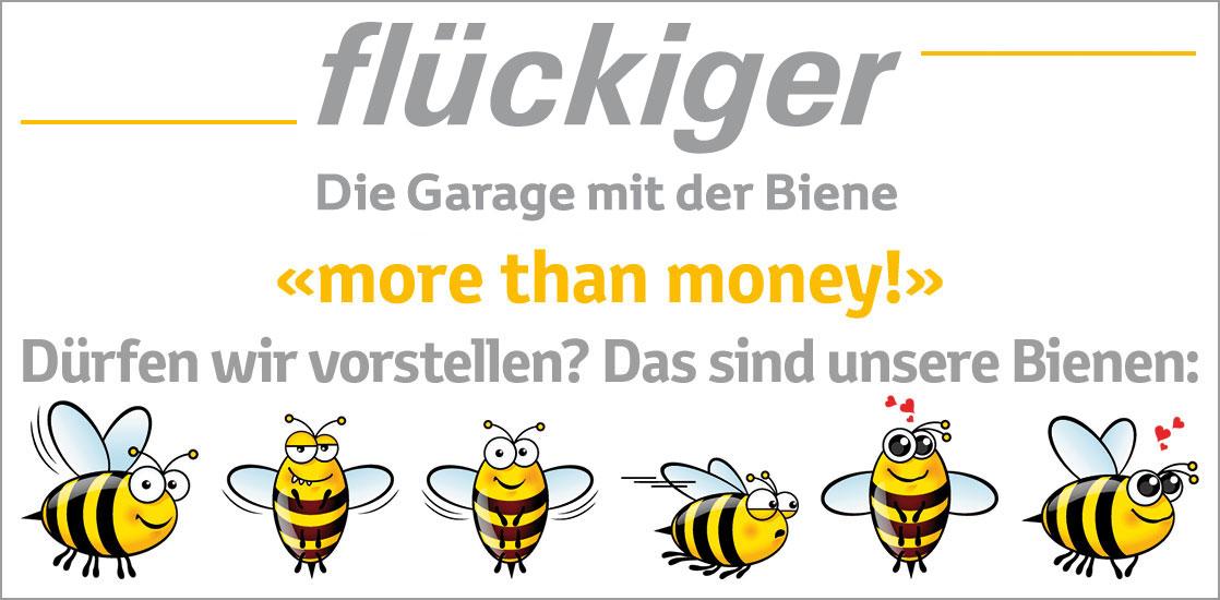flückiger – S. Flückiger AG – Die Garagae mit der Biene – 4944 Auswil