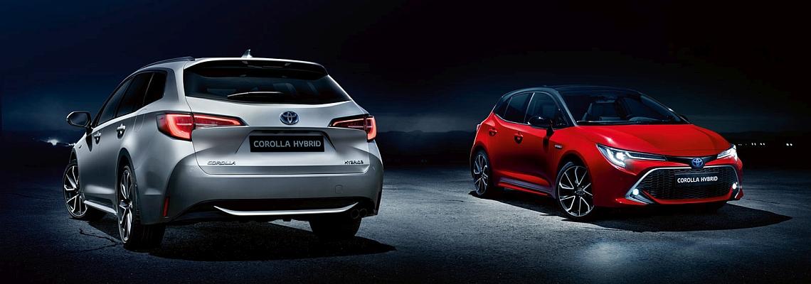 Der neue Toyota Corolla Touring Sports Hybrid