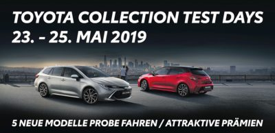flückiger Autohaus - TOYOTA COLLECTION TEST DAYS