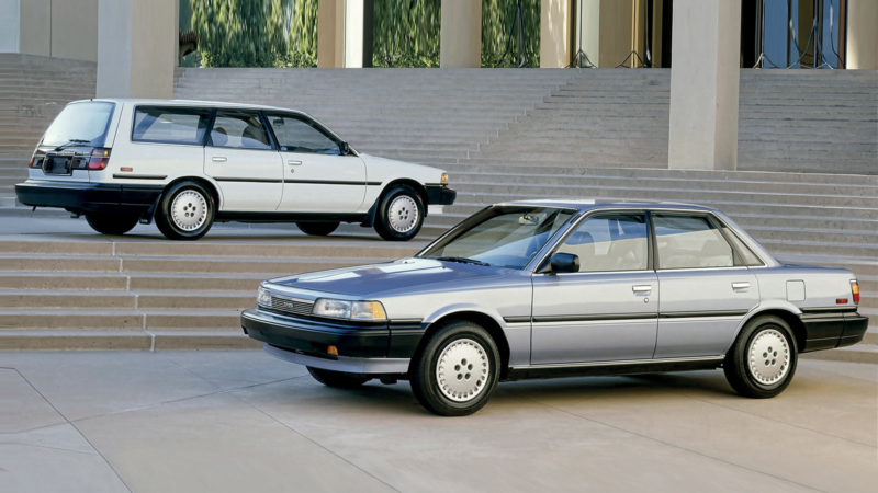 TOYOTA CAMRY 2. Generation (1986-1991)